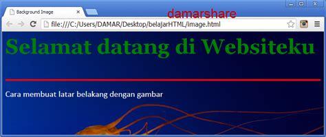 cara membuat background website dengan html mahbub cara membuat background html