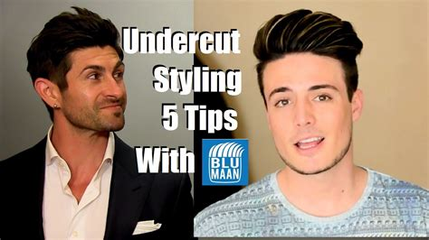 video hair style undercut hairstyle tutorial 5 styling tips for medium