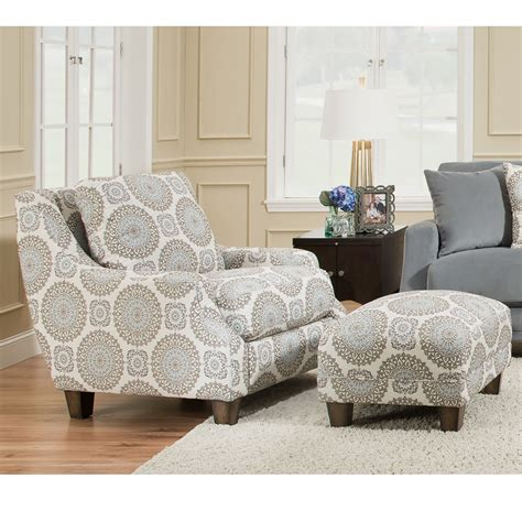 cheap accent chairs with ottomans 2170 milan accent chair 2175 matching ottoman franklin