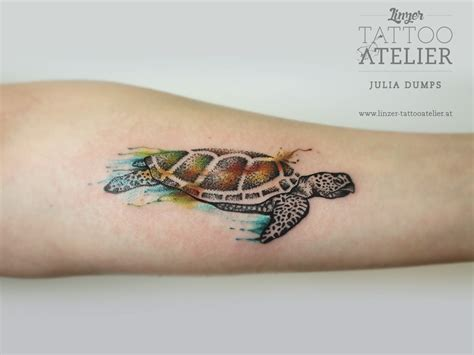 10 cool turtle tattoos to show your dedication to these