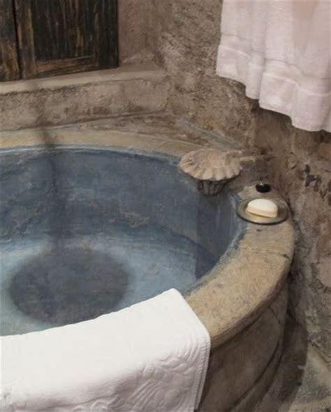poured concrete bathtub a galvanized tin bathtub set in poured concrete very