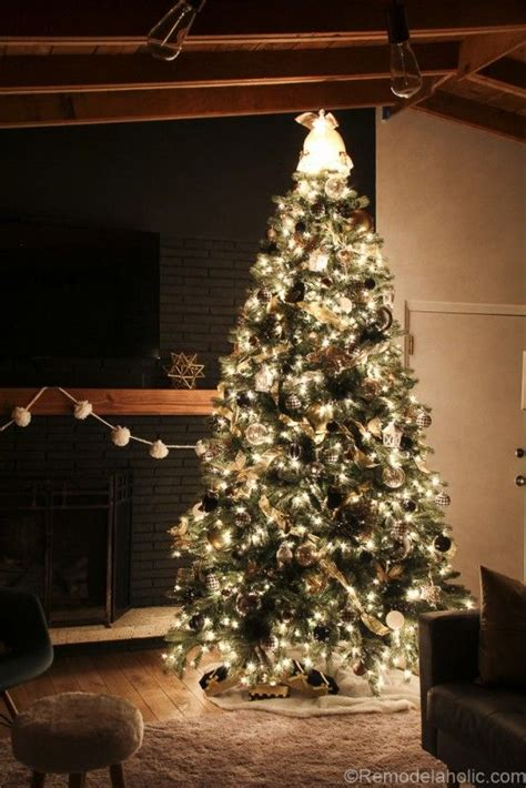 17 best ideas about elegant christmas trees on pinterest