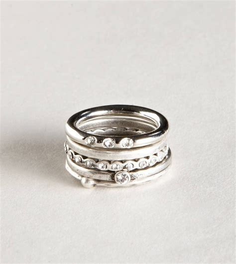stacked rings set wedding ring redesign