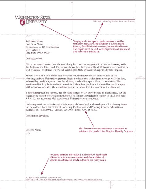 business letter logo placement positioning reproducing an official letterhead tex