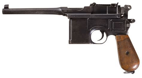 mauser military broomhandle pistol with accessories pistol firearms auction lot 1450