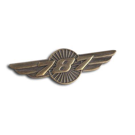 Pin Wings Security Boeing 787 Wings Pin Badge