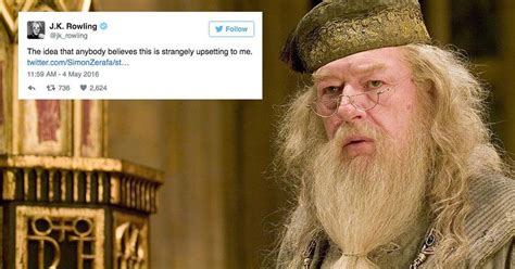 this harry potter theory about dumbledores role in j k rowling shuts down dark fan theory about dumbledore
