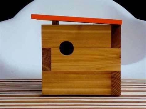 Handmade Modern - the constant gatherer handmade modern bird shelters