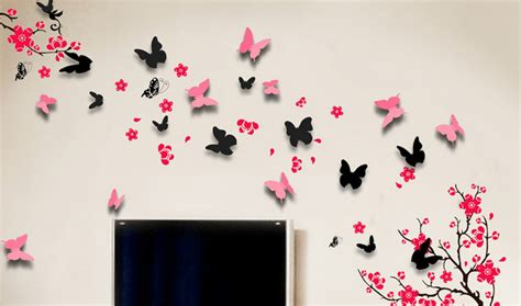 wall stickers butterflies butterfly wall stickers and how to use them in different