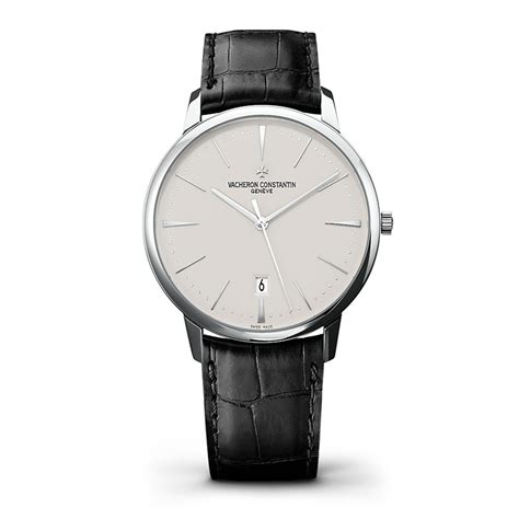 Automatic Silver List White vacheron constantin patrimony white gold automatic with date 85180 000g 9230 at owen robinson