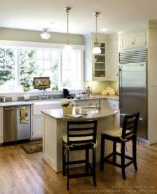Kitchen Island Spacing by Cottage Kitchens Photo Gallery And Design Ideas