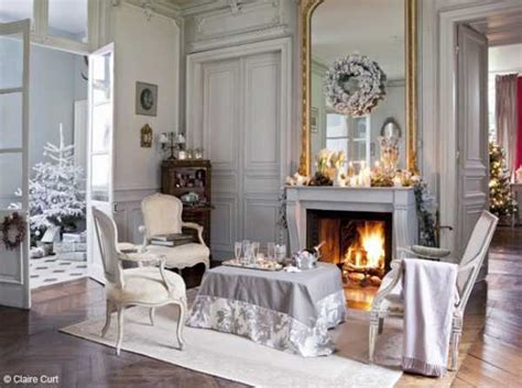 french decorating ideas elegant christmas decorating ideas blending light gray