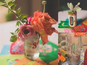 mexican wedding centerpieces mexican themed wedding inspiration b lovely events