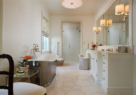 master bathtub master bathroom with freestanding tub transitional