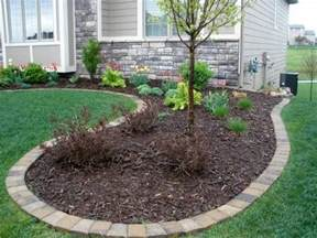 Curved Stone Garden Bench Edging Mulch Amp Drainage Solutions Des Moines Iowa