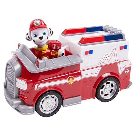 Truck Container Robocar Poli And Paw Patrol Termurah pat patrouille v 233 hicule ambulance et figurine spin