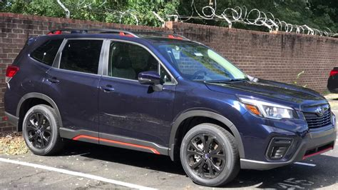2019 Subaru Forester Sport by 2019 Subaru Forester Blue Subaru Review Release