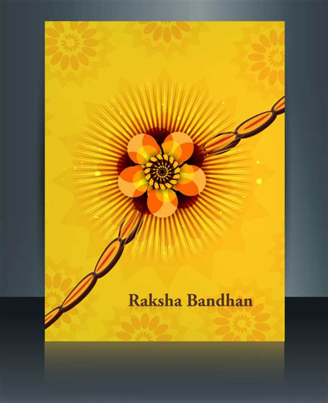 beutiful template celebration colorful raksha bandhan