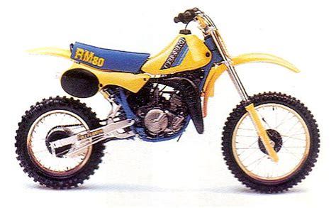 suzuki rm80 model history