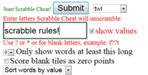 scrabble word finder cheater scrabble the free scrabble word finder is