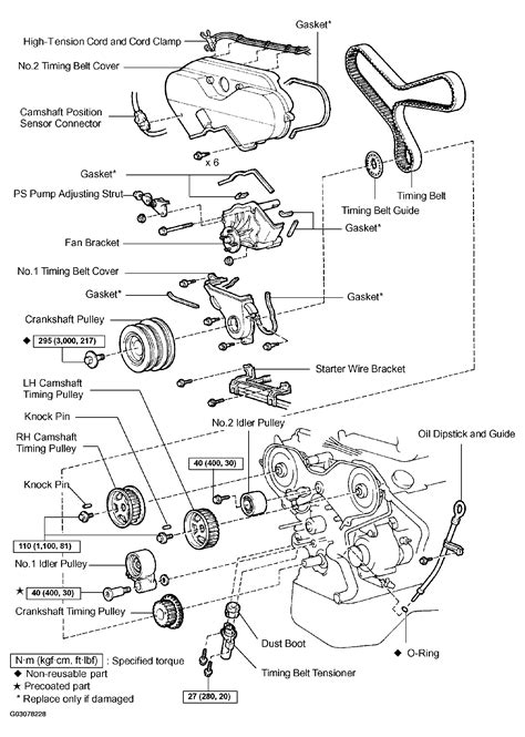 2004 toyota tacoma parts diagram 2004 toyota tacoma serpentine belt routing and timing belt