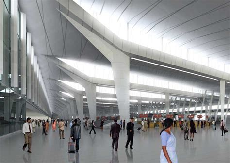 Home Architecture Design For India by Delhi Airport Indira Gandhi International Building E