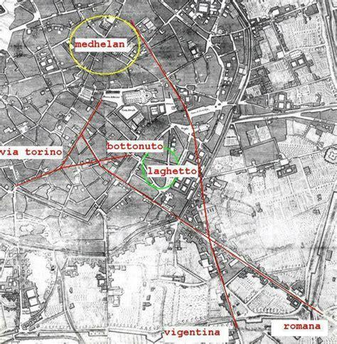 mappa porta romana storia di porta romana 2