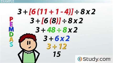 define arrange what does bodmas mean study com