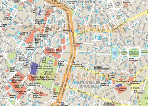 pdf maps brussels city map