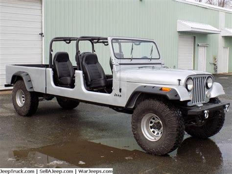 jeep scrambler 4 door 1984 jeep cj 16 4 door crew cab short bed pickup v8