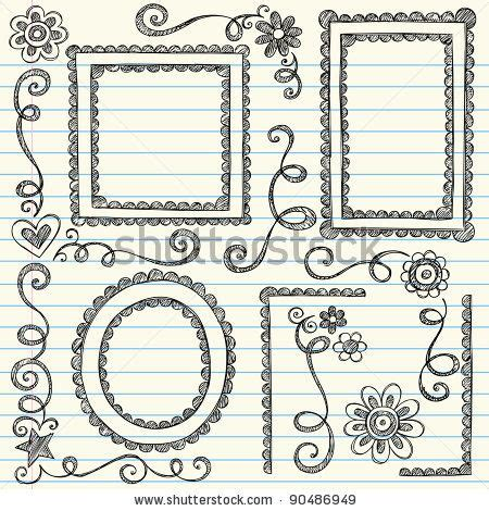 frame design drawing easy to draw border designs easy border designs to draw
