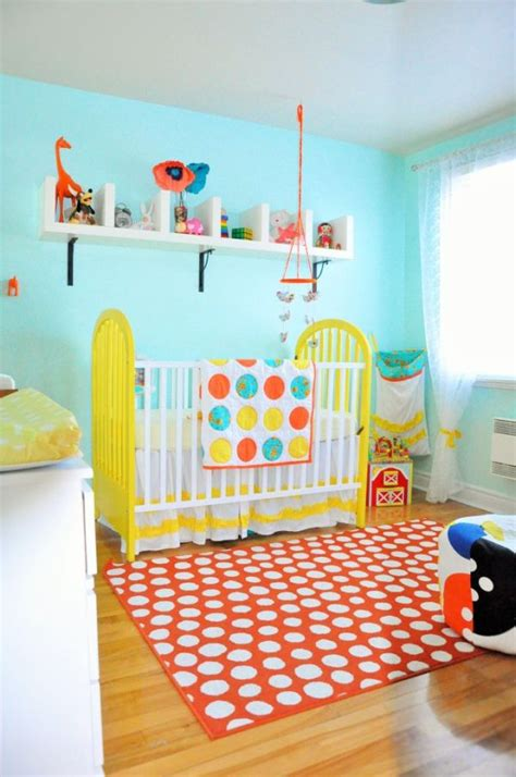 orange rugs for nursery bring up baby in style from day one 30 lovely nursery room design ideas
