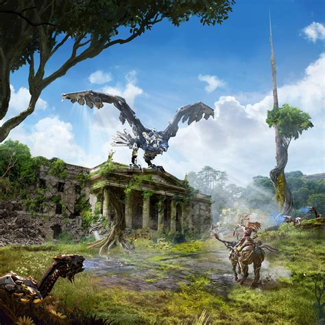 ps4 themes liverpool horizon zero dawn gives uk cities a post apocalyptic