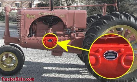 massey challenge tractordata massey harris challenger tractor photos