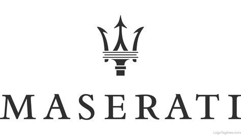 maserati logo maserati logo and tagline