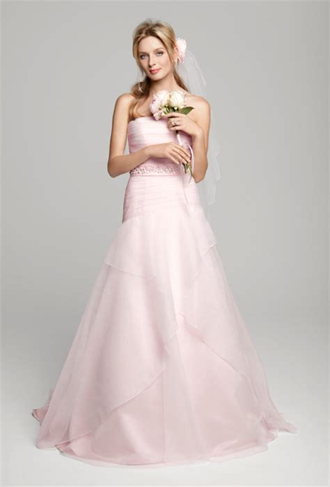 brautkleider in rosa my wedding dress pink wedding dresses from 2013