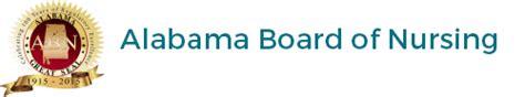 alabama board  nursing