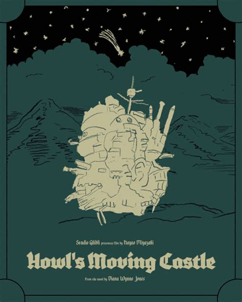 howls moving castle picture book howl s moving castle poster jellyphresh