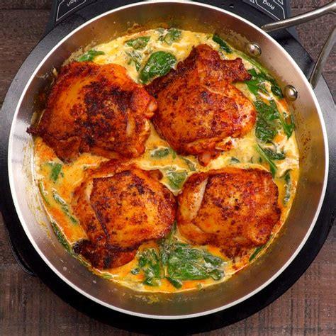 one pan lemon butter chicken recipe video tiphero