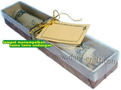 Undangan Box undangan gulung kotak daun box daun ug2 souvenir pernikahan
