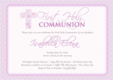 1st communion invitation templates s communion invitations communion invitations
