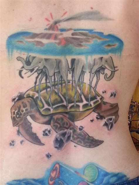 discworld tattoo designs the turtle discworld