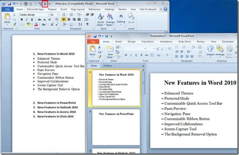 Sample Resume Outline by Directly Send Word 2010 Document To Powerpoint 2010