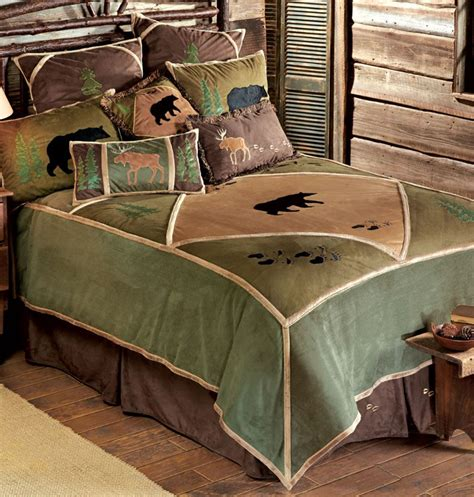 wildlife bedding sets rustic home decor bedding