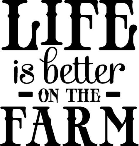 Nautical Bathroom Designs life is better on the farm decal farm wall lettering farm
