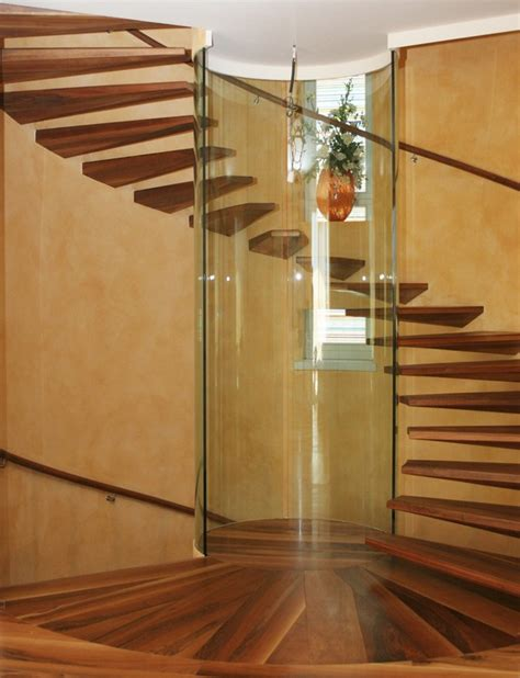 Circular Stairs Design 14 Modern Indoor Stairs