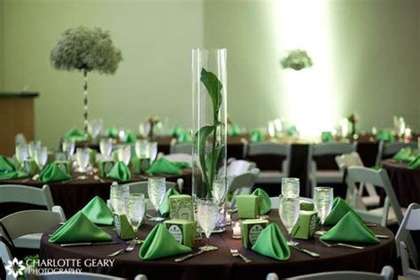 green and brown table decor {Poster Palette   Peter Pan} #