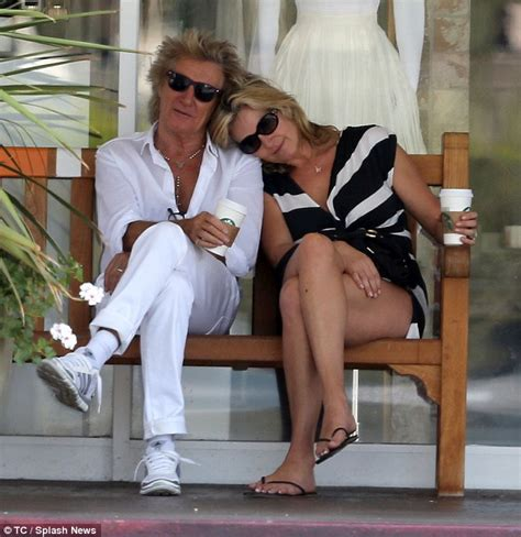 interracial breeding bench rod stewart embraces wife penny lancaster in the bel air