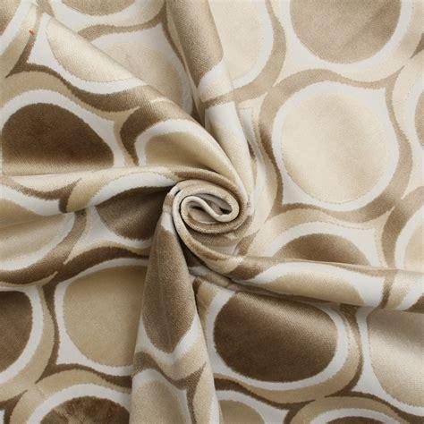 retro fabric upholstery designer dfs cut velvet large retro vintage circle spots