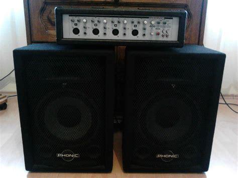 Mixer Audio Sistem vand boxe lificatoare mixer phonic crosower